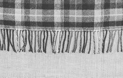 Шотландка шотландки шерстей теплая Стоковая Фотография