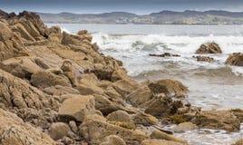 Шотландская береговая линия утеса Стоковая Фотография RF