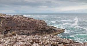 Шотландская береговая линия утеса Стоковое Фото