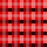 Шотландская текстура тартана Стоковое Изображение