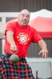 Шотландские игры гористой местности Стоковые Фото