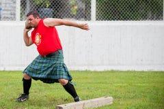 Шотландские игры гористой местности Стоковое Изображение