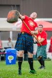 Шотландские игры гористой местности Стоковое фото RF