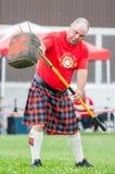 Шотландские игры гористой местности Стоковые Изображения RF