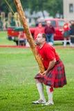 Шотландские игры гористой местности Стоковая Фотография RF