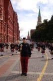 Шотландские bagpipers Стоковое фото RF