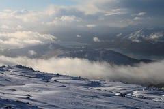 Шотландские loches стоковые фотографии rf