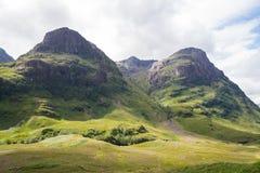 Шотландская гористая местность стоковые фотографии rf