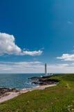 Шотландский взгляд восточного побережья на ясный день Стоковое Изображение RF