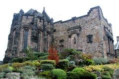 Шотландский замок, Шотландия Стоковое Изображение RF