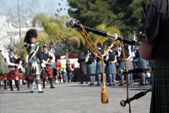 Шотландский парад Стоковое фото RF