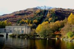 Шотландский пейзаж, Loch Lomond, Glencoe, Шотландия Стоковое Изображение RF