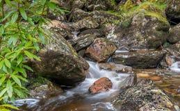 Шотландский поток гористой местности Стоковое Изображение