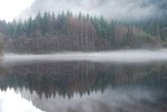 Шотландское озеро Trossachs Стоковая Фотография RF