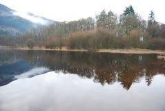 Шотландское озеро Trossachs Стоковое Изображение