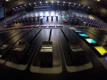Шоу в прямом эфире и инженер музыки Стоковое Фото