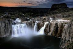 Шошон падает Twin Falls, Айдахо Стоковое фото RF
