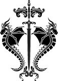 шпага восковки драконов бесплатная иллюстрация