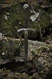 Шпага рыцаря Стоковое Фото