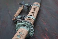 Шпага самураев Katana Стоковые Изображения