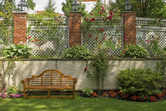 шпалера сада стоковые фотографии rf