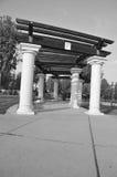 шпалера тени 2 парков общественная Стоковые Фото