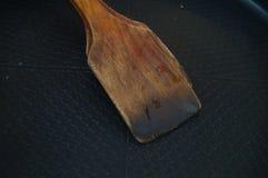 Шпатель добавочного вка деревянный Стоковые Изображения