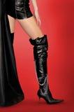 шпильки ног ботинок сексуальные стоковая фотография rf