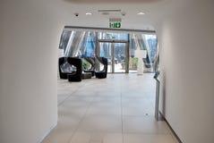 Шпиль Варшавы строя самомоднейший офис Стоковое Изображение