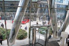 Шпиль Варшавы строя самомоднейший офис Стоковое Изображение RF