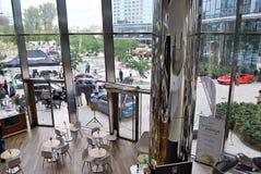 Шпиль Варшавы строя самомоднейший офис Стоковые Фото