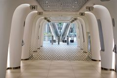 Шпиль Варшавы строя самомоднейший офис Стоковые Фотографии RF