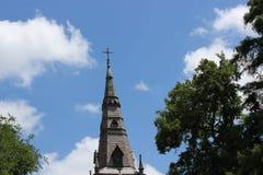 Шпиль церков стоковое изображение rf