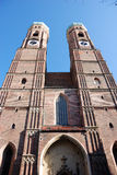 шпиль frauenkirche Стоковые Изображения