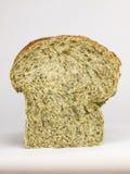 шпинат отрезока хлеба Стоковая Фотография