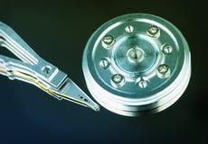 шпиндель диска трудный головной магнитный Стоковая Фотография RF