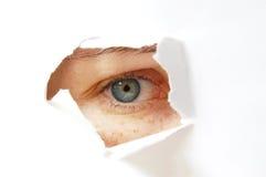 шпионка глаза Стоковые Изображения