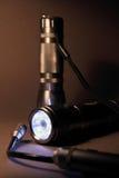 шпионка 2 светильников Стоковое Изображение RF