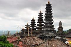 Шпили в балийском виске Стоковое фото RF