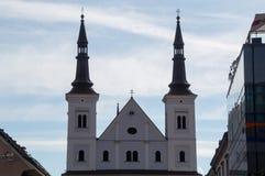 шпили церков Стоковое Изображение RF