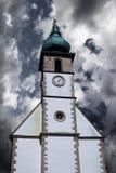 Шпиль церков Стоковые Изображения