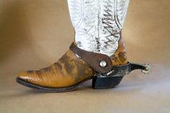 шпора ботинка Стоковая Фотография