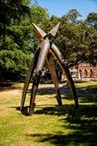Шпоры памятника 2 - сражение золотых шпор, Кортрейк, Фландрия, Бельгия Стоковое Изображение RF