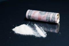 Шприц, лекарства, героин, кокаин стоковое изображение rf
