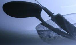 шприц тени Стоковые Изображения RF