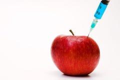 шприц яблока Стоковые Фотографии RF