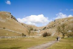 шрам yorkshire goredale 2006 участков земли 9006 -го в апреле Стоковые Изображения