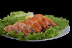 шримсы салата Стоковая Фотография RF