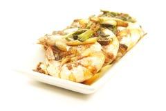 шримс продуктов моря креветки еды тарелки Стоковое Фото