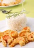 шримс риса Стоковые Фото